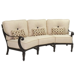 Castelle Bellagio Cushioned Crescent Sofa - 2644T