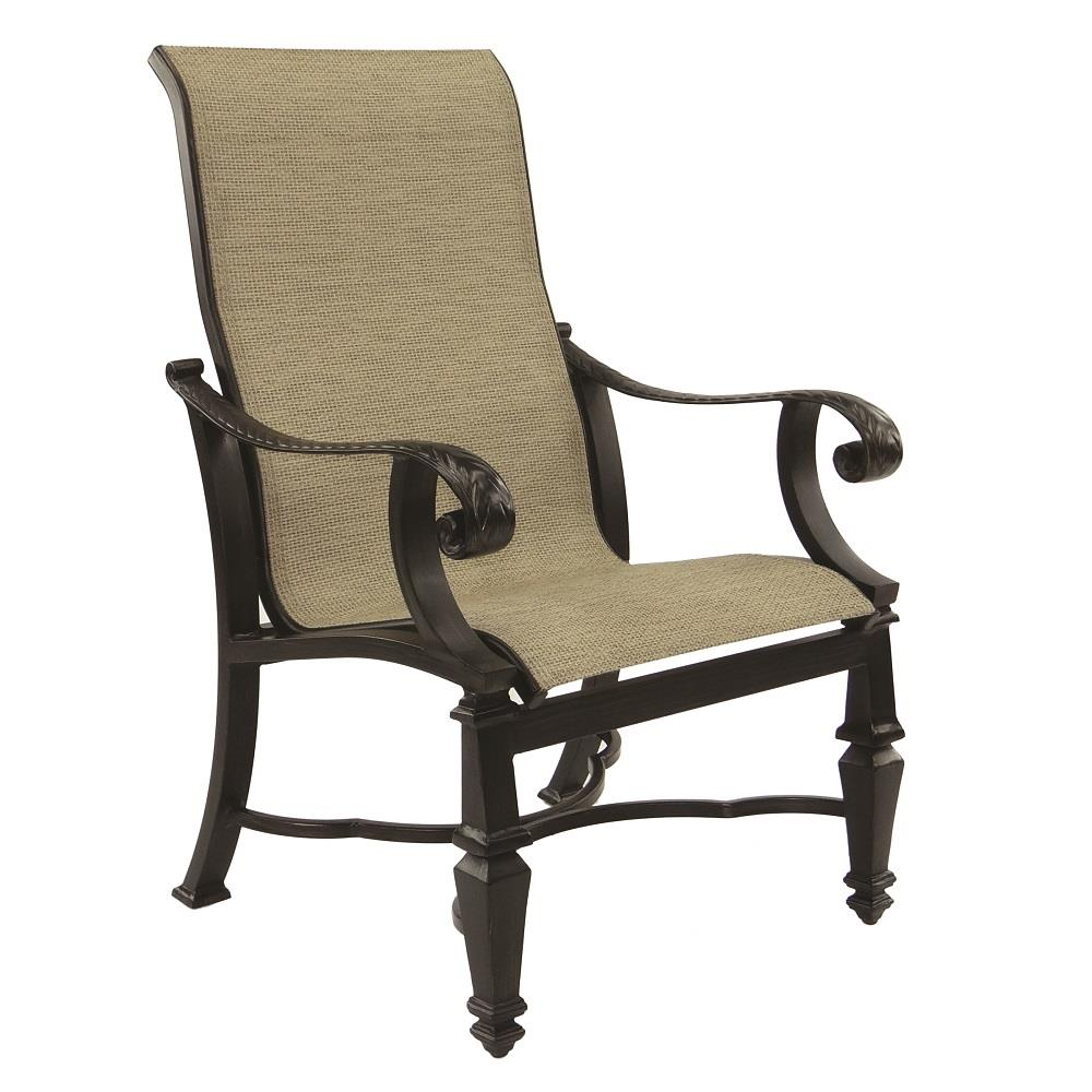 Castelle Bellagio Sling Dining Chair - 2696S