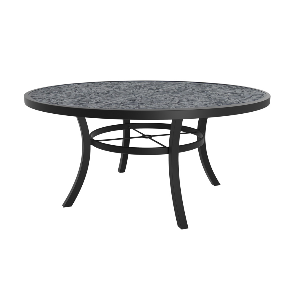 Castelle Bellagio Cushion Round Dining Table with 6 Chairs | CS-BELLAGIO-SET2