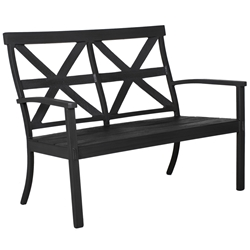 Castelle Biltmore Antler Hill Cast Top Bench - 0A01X