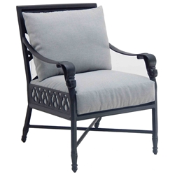 Castelle Biltmore Estate Cushioned Dining Chair - 9A06R