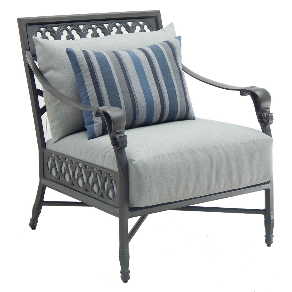 Castelle Biltmore Estate Cushioned Lounge Chair - 9A10R