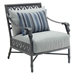 castelle aluminum lounge chair with foam cushions