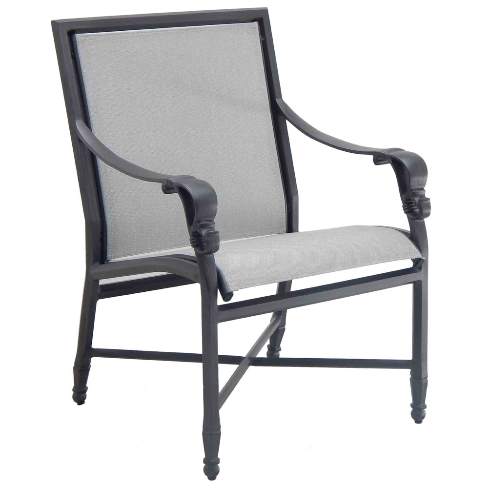 Castelle Biltmore Estate Sling Dining Chair - 9A75S
