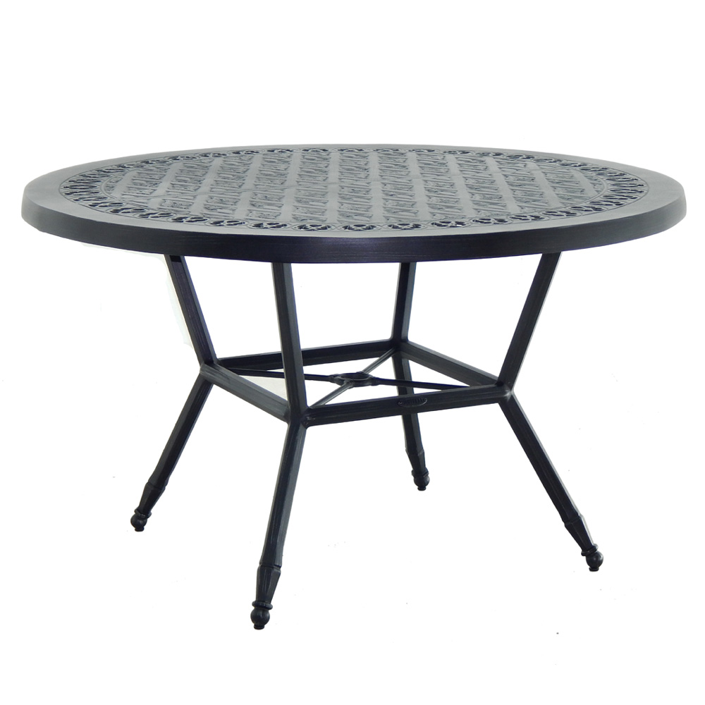 "Castelle Biltmore Estate 54"" Round Dining Table - A9CD54"