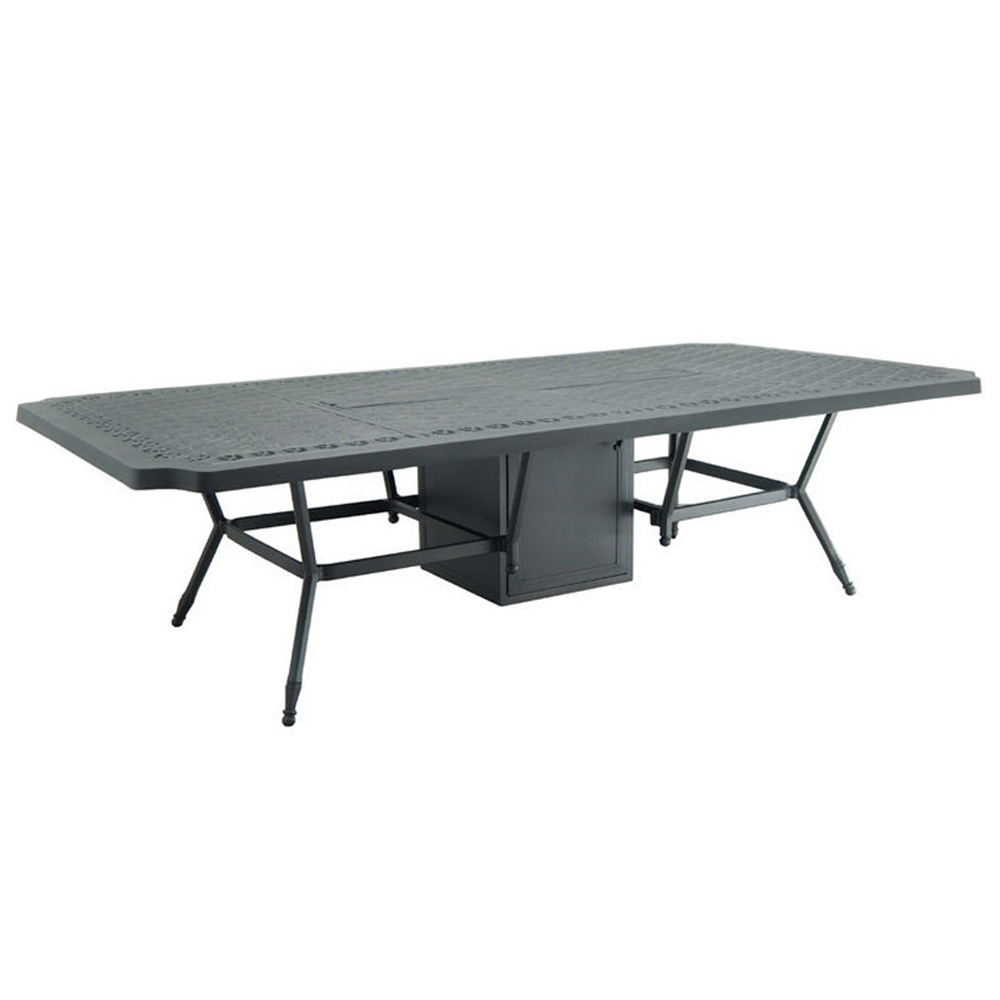 "Castelle Biltmore Estate 54"" x 108"" Rectangular Dining Table with Firepit - A9RF108WL"