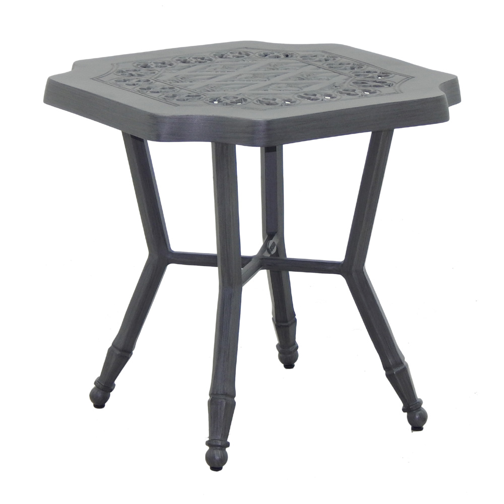 "Castelle Biltmore Estate 20"" Square Side Table - A9SS20"