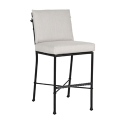 Castelle Biltmore Preserve Cushioned Armless Bar Stool - 1B79R