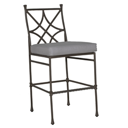 Castelle Bordeaux Cushioned Bar Stool - 0D79T