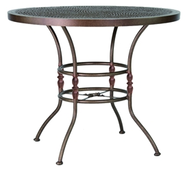 "Castelle Bordeaux 42"" Round Counter Height Table - ZCE42"