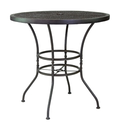 "Castelle Bordeaux 42"" Round Bar Height Table - ZCH42"