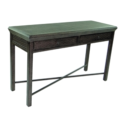 "Castelle Classical 18"" x 54"" Rectangular Console Table  with Drawers - CRL1854"