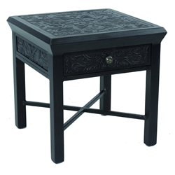 "Castelle Classical 20"" Square Side Table with Drawer - CSS20"