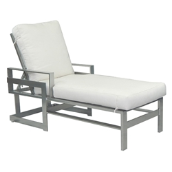 Castelle Eclipse Adjustable Cushioned Chaise Lounge - 1712R