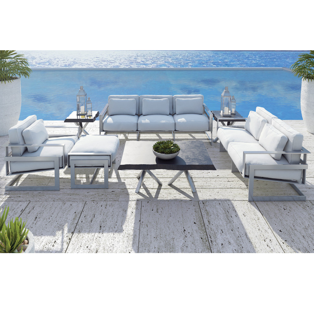 Castelle Eclipse Outdoor Furniture Set with Seating for 9 - CS-ECLIPSE-SET2