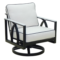 Castelle Hermosa Cushioned Lounge Swivel Rocker - 6715T