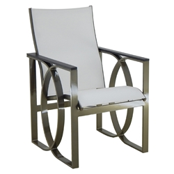 Castelle Hermosa Sling Dining Chair - 6775S