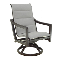Castelle Legend Sling Swivel Rocker Dining Chair - 7097S