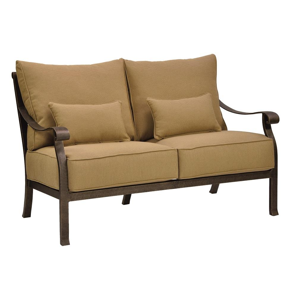 Castelle Madrid Cushioned Loveseat - 3811T
