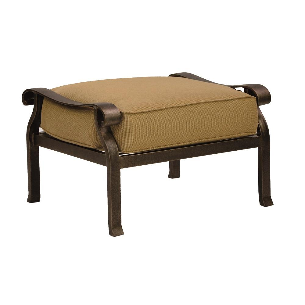 Castelle Madrid Cushioned Ottoman - 3813T