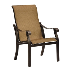 Castelle Madrid Sling Dining Chair - 3896S