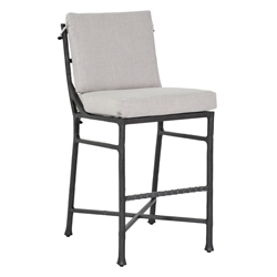Castelle Marquis Cushioned Armless Bar Stool - 1D79R