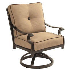 Castelle Monterey Cushioned Swivel Rocker Dining Chair - 5807T