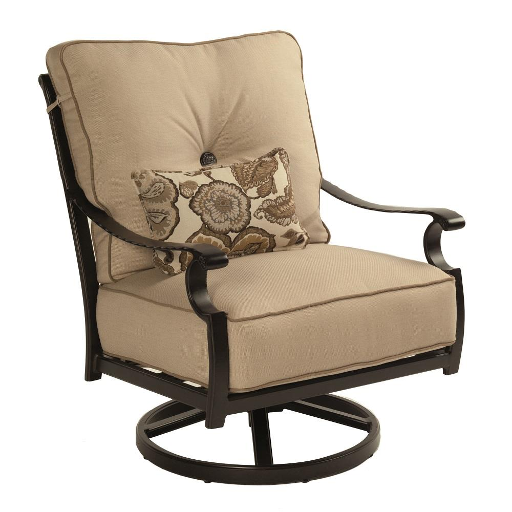 Castelle Monterey Cushioned Lounge Swivel Rocker - 5815T