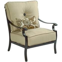 Castelle Monterey High Back Cushioned Lounge Chair - 5830T