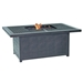 "Classical 36"" x 52"" Rectangular Coffee Table with Firepit"