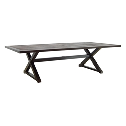 "Castelle Oxford 49""x 108"" Rectangular  Dining Table (RTA) - XRDK108"
