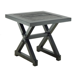 "Castelle Oxford 20"" Square Side Table - XSS20"