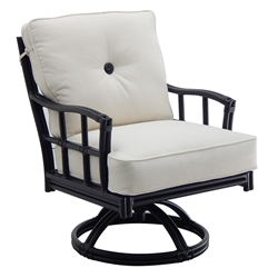 Castelle Resort Fusion Cushioned Swivel Rocker - 9D07T