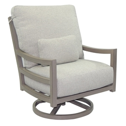Castelle Roma High Back Cushioned Lounge Swivel Rocker  - 9616R