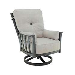Castelle Santa Fe Ultra High Back Lounge Swivel Rocker  - 1436T