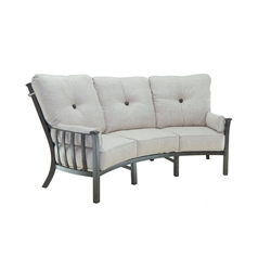 Castelle Santa Fe Ultra High Back Crescent Sofa  - 1444T