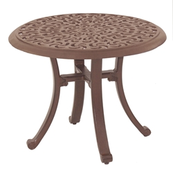 "Castelle Sienna 24"" Round Occasional Table (RTA) - DCP24"