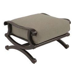 Castelle Telluride Cushioned Ottoman - 2813T