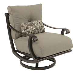 Castelle Telluride Cushioned Lounge Swivel Rocker  - 2815T