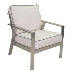 Castelle Trento Cushioned Lounge Chair - 3130T