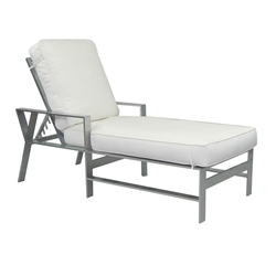 Castelle Trento Adjustable Cushioned Chaise Lounge - 3132T