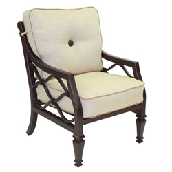 Castelle Villa Bianca Cushioned Dining Chair - 1106T