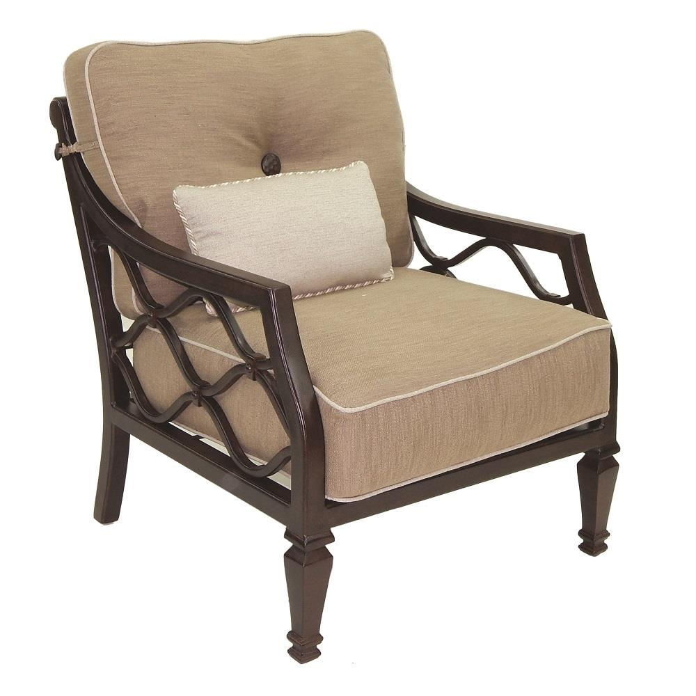 Castelle Villa Bianca Cushioned Lounge Chair  - 1110T