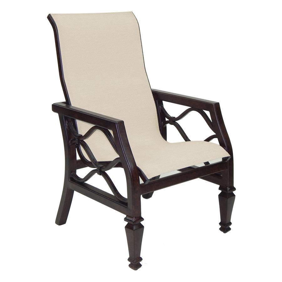 Castelle Villa Bianca Sling Dining Chair - 1196S