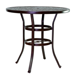 "Castelle Vintage 42"" Round Bar Height Table - NCH42"