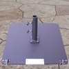 Galtech 26 Inch x 26 Inch Steel Square Umbrella Base with 95 LBS. Weight - 095SQ