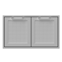 "36"" Double Sealed Pantry Storage Doors"
