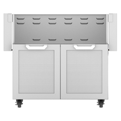 "Outdoor 36"" Double Door Grill Cart"