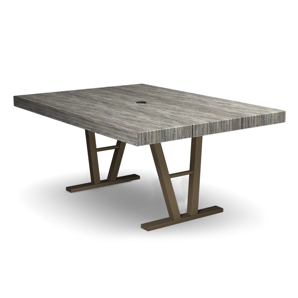 Homecrest Atlas 45 inch by 62 inch Rectangle Dining Table - 154562D