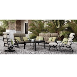 Homecrest Bellaire High Back Sofa Set - HC-BELLAIRE-SET7